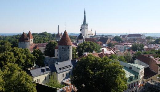 【夏のフィンランド旅行6日目AM】7月ベストシーズンinタリン(エストニア)