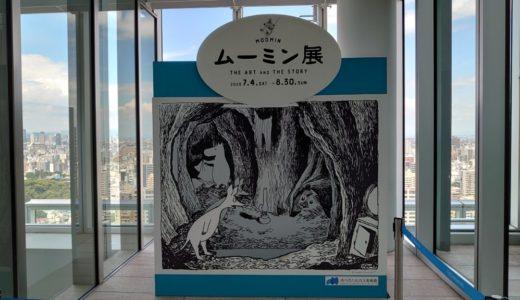 「ムーミン展 THE ART AND THE STORY」 IN あべのハルカス美術館と弁天町をぶらりの旅 その1